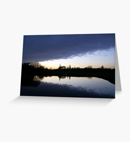Cloud Over the Lake Greeting Card