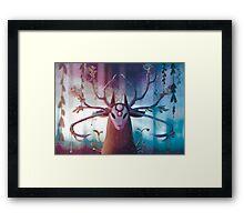 Alpha Stag Framed Print