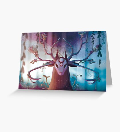 Alpha Stag Greeting Card