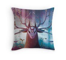 Alpha Stag Throw Pillow