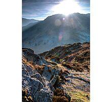 Langdale Sun Photographic Print