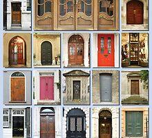 Doors of London by Heidi Hermes
