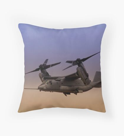 Osprey In Flight Series 1 of 4 Throw Pillow