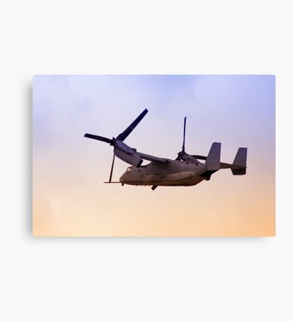 Osprey In Flight Series 4 of 4. Canvas Print