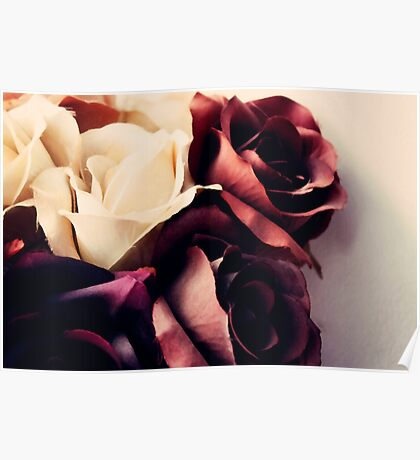 Russet Roses  Poster
