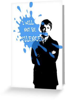 I Will Not Be Silenced - John - BBC Sherlock by cyaxares