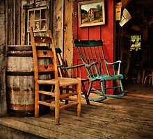The WoodWorker's Porch by Pat Abbott