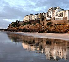 Reflections of Tenby. by Lilian Marshall