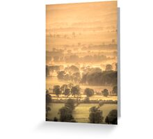 A View From Pendle Greeting Card