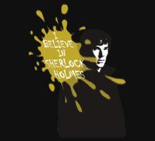 I Believe in Sherlock Holmes - Sherlock BBC One Piece - Short Sleeve