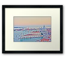 A View Of Venice From The Belltower Framed Print