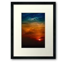 Turner Sky Framed Print