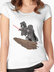 Star Wars Lion King Women's Fitted Scoop T-Shirt