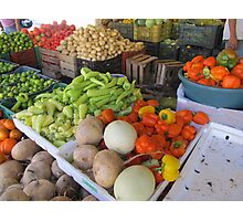 Fruits and Vegetables II - Frutas y Verduras  Photographic Print