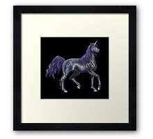 Rarity Colored Pencil Rendering Framed Print