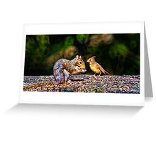 Forest Friends Greeting Card