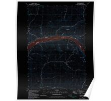 USGS Topo Map Washington State WA Ping 243139 1981 24000 Inverted Poster