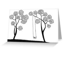 I am here till you come Greeting Card
