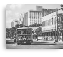 Vehicles: Trolley Canvas Print