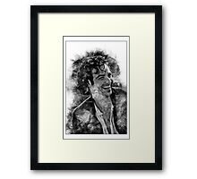 Sunlight and laughter Framed Print