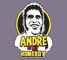 Andre the Giant is my HOMEBOY!  by BUB THE ZOMBIE