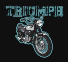 Triumph Bonneville by Steve Harvey