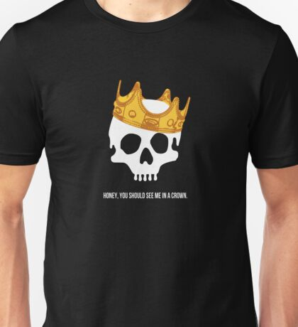 CROWNED SKULL Unisex T-Shirt