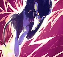 pokecember - luxray by AiWa