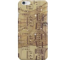 A Whimsy Angel With Flowing Locks iPhone Case/Skin