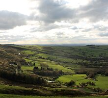 Edge of the National Park, Coombes Edge, Derbyshire by Mark Smitham