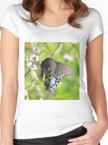 Butterfly Sweets Women's Fitted Scoop T-Shirt