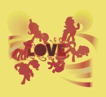 My Little Pony Love One Piece - Short Sleeve