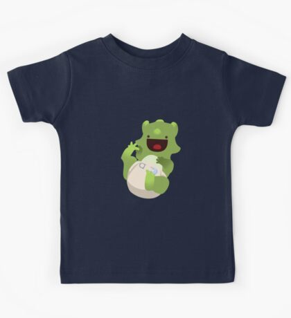 Baba-cera-tops Green Kids Tee