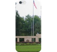 Colonnade at the Florida National Cemetery in Bushnell. iPhone Case/Skin