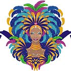 Beautiful carnival girl by torishaa
