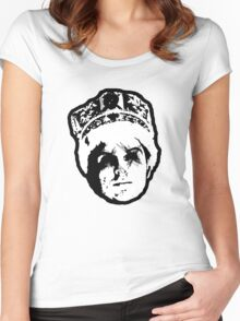 THE KING Women's Fitted Scoop T-Shirt