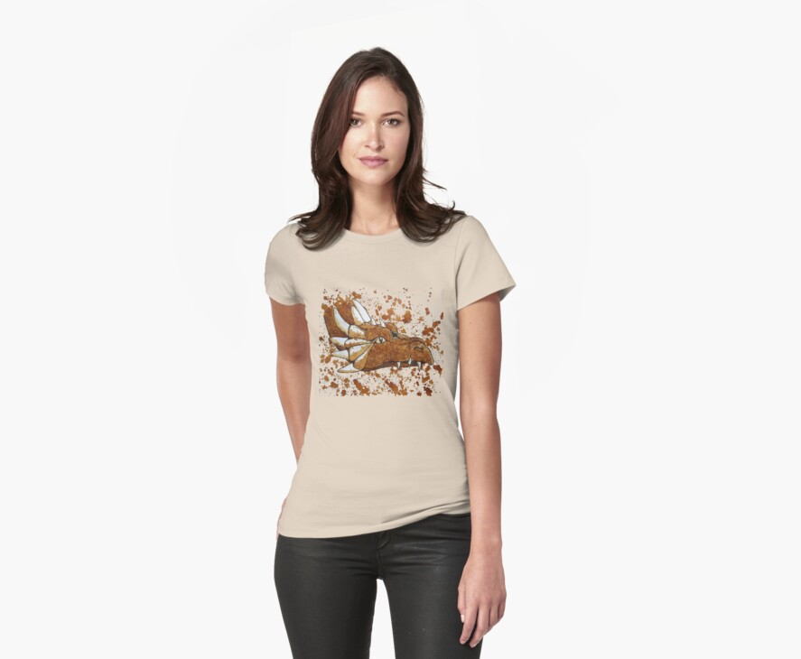 The Dragon of Nescafe Forest T-shirt by Dianne  Ilka