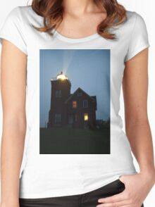 Lighthouse  Women's Fitted Scoop T-Shirt