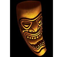 The laughing Tiki Photographic Print
