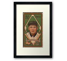 Benjamin K Edwards Collection Charles Hemphill New York Yankees baseball card portrait Framed Print