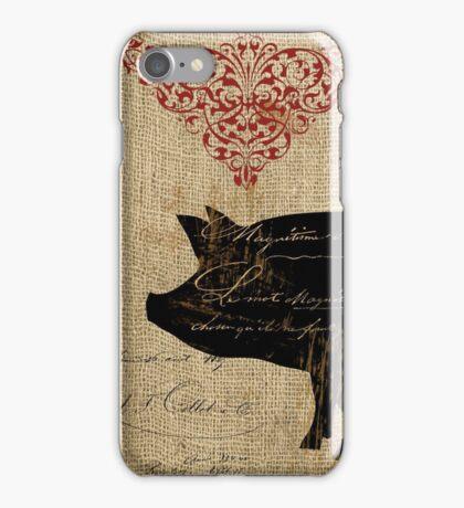 Ferme Piglet Farm iPhone Case/Skin