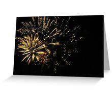 Fireworks at Disneyland. Greeting Card