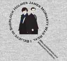 Sherlock & Moriarty Under the Microscope One Piece - Short Sleeve