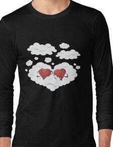 DREAMY HEARTS Long Sleeve T-Shirt