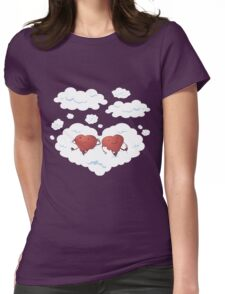 DREAMY HEARTS Womens Fitted T-Shirt