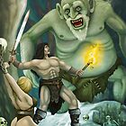 Conan in the Hall of the Mountain King by Crusader