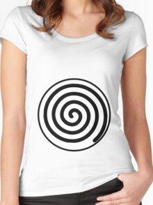 poliwag poliwhirl poliwrath spiral Women's Fitted Scoop T-Shirt
