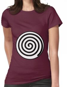 poliwag poliwhirl poliwrath spiral Womens Fitted T-Shirt