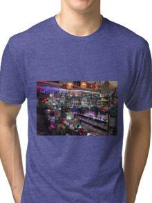 Cute Glowing Lights Store Tri-blend T-Shirt