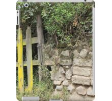 Overgrown Yellow Wood Gate iPad Case/Skin